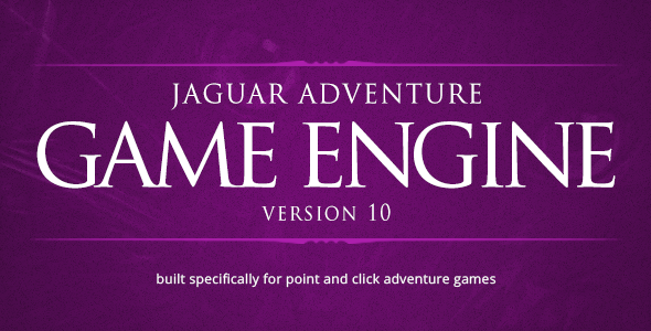 Jaguar - Point and Click Adventure Game Engine