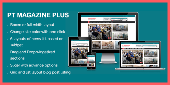 PT Magazine Plus - Responsive Magazine and Blog Theme
