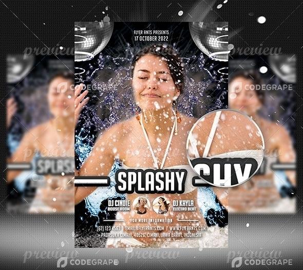 Splashy Flyer Template