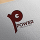Power P Letter Logo
