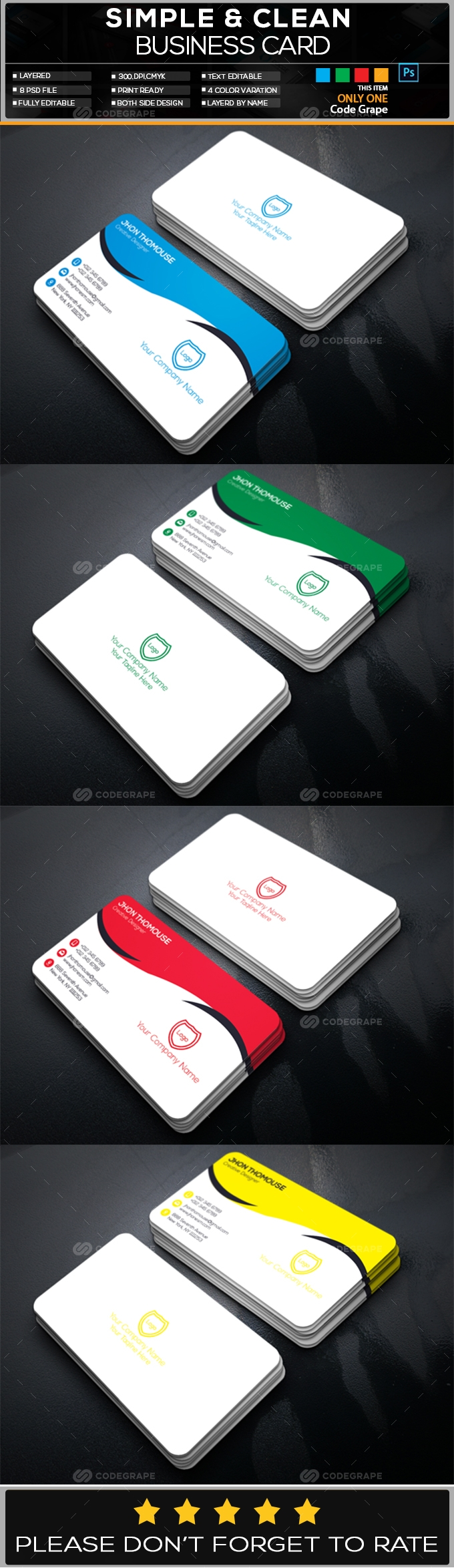 Creative Business Card Vol - 15