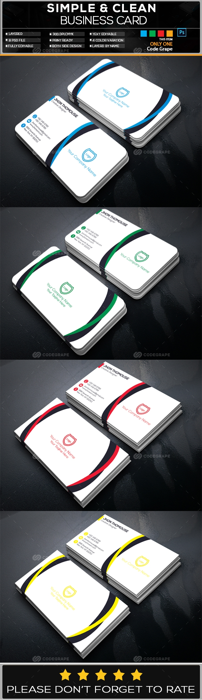 Creative Business Card Vol - 11