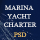 Maina Yacht Charter PSD Template