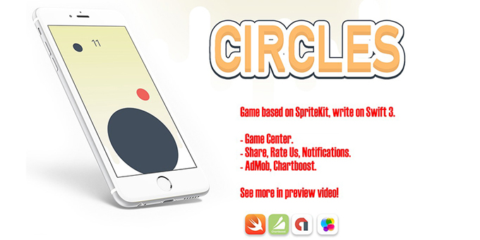 Circles - iOS Xcode