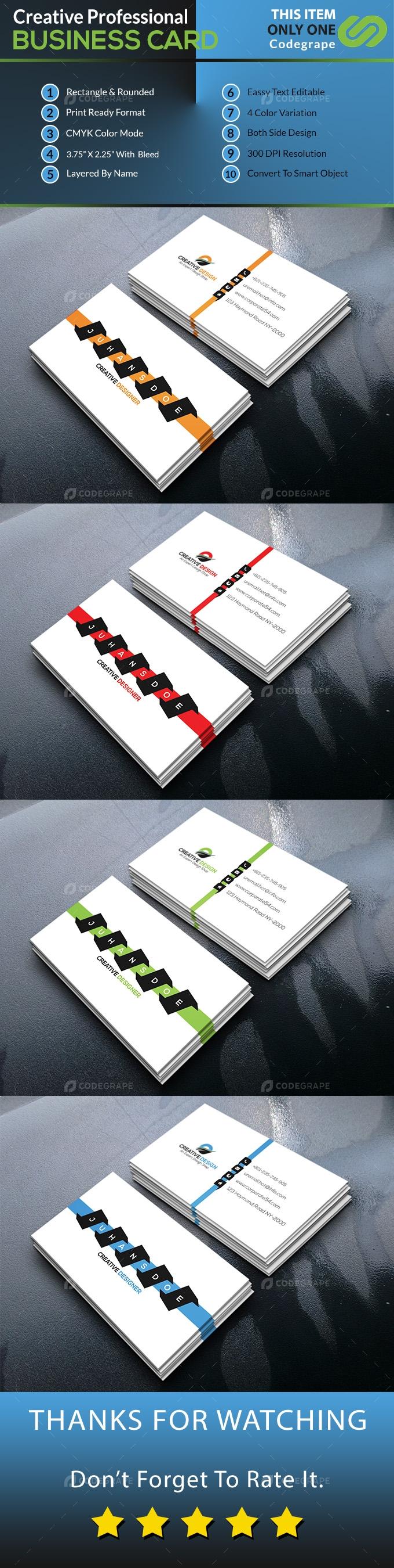 Creative Business Card