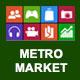 Metro Market - PSD Template