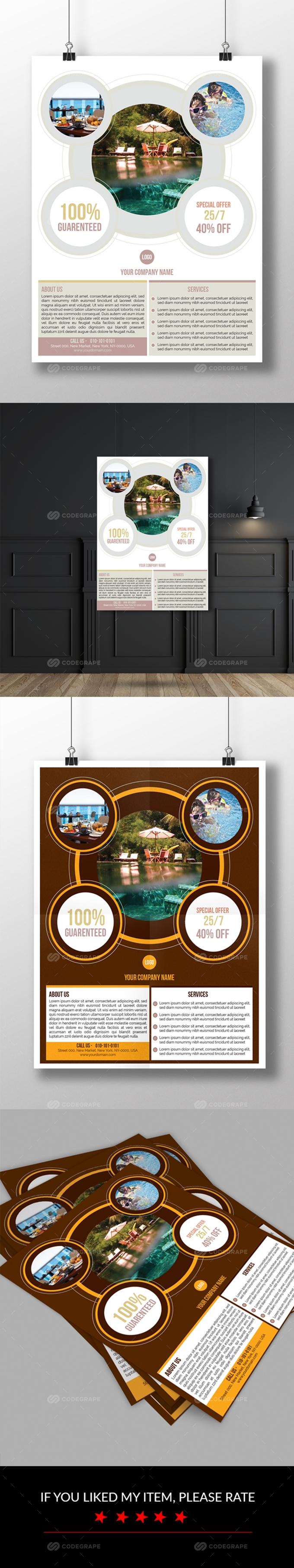 Hotel & Resort Flyer