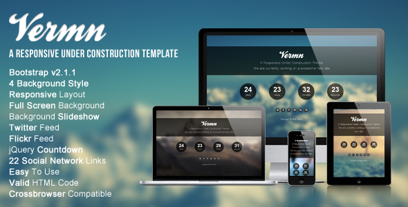 Vermn - A Responsive Under Construction
