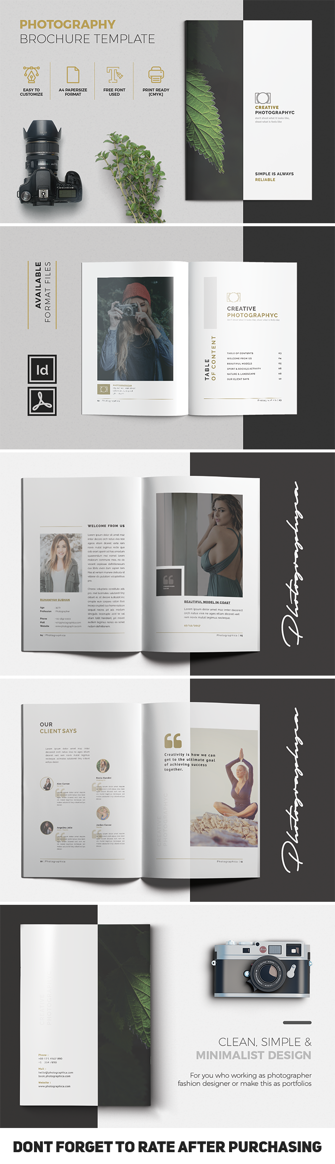 Multipurpose Brochure Template Vol. 07