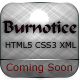 Burnotice 1.0 Fullscreen / Coming Soon Template
