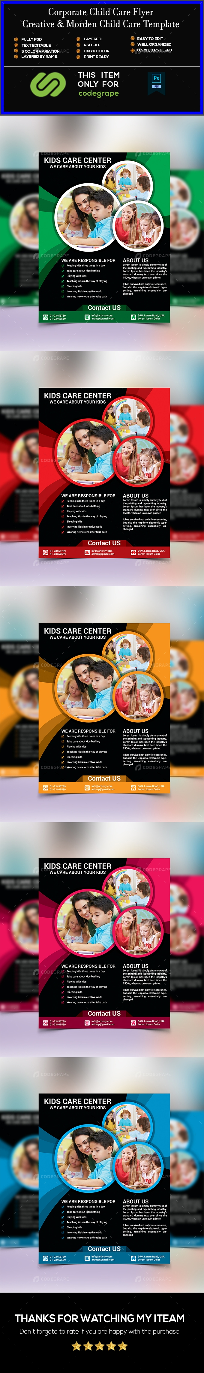 Child Care Flyer