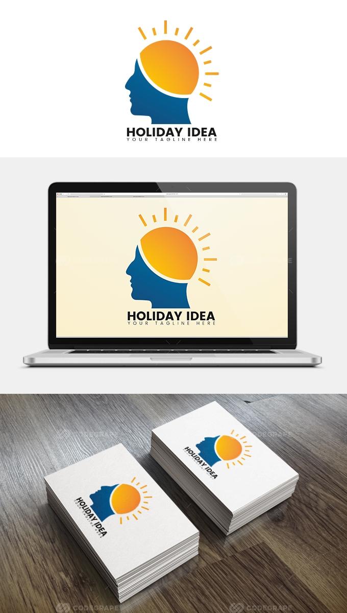Sun Man Logo