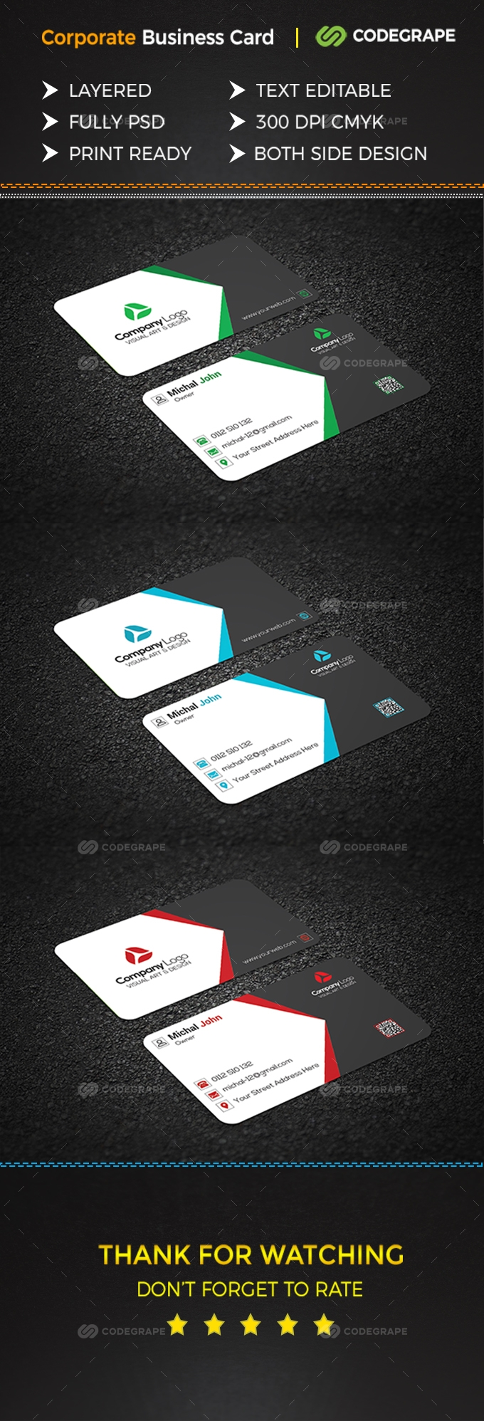 Smart Business Card - Print | CodeGrape