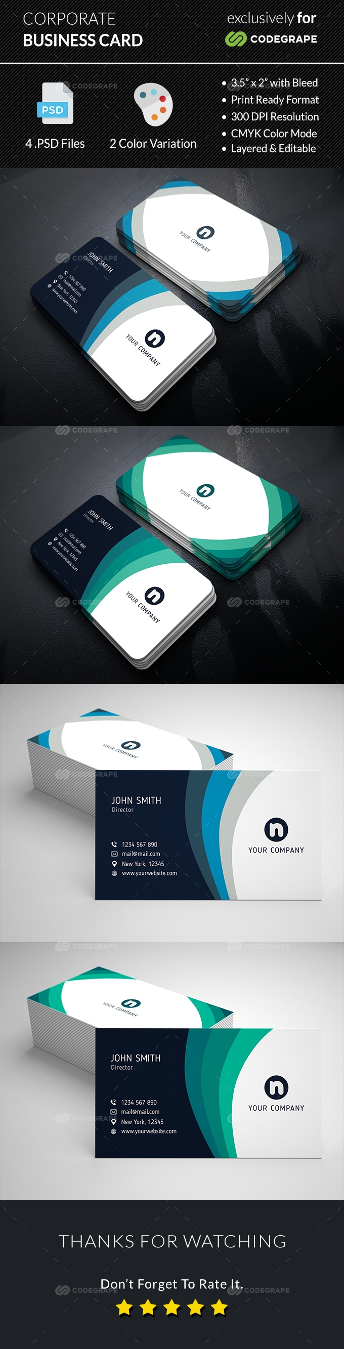Corporate Business Card v.4