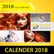 Calendar - 2018 Wall Calendar