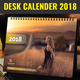 Desk Calendar 2018 - Multipurpose and Creative