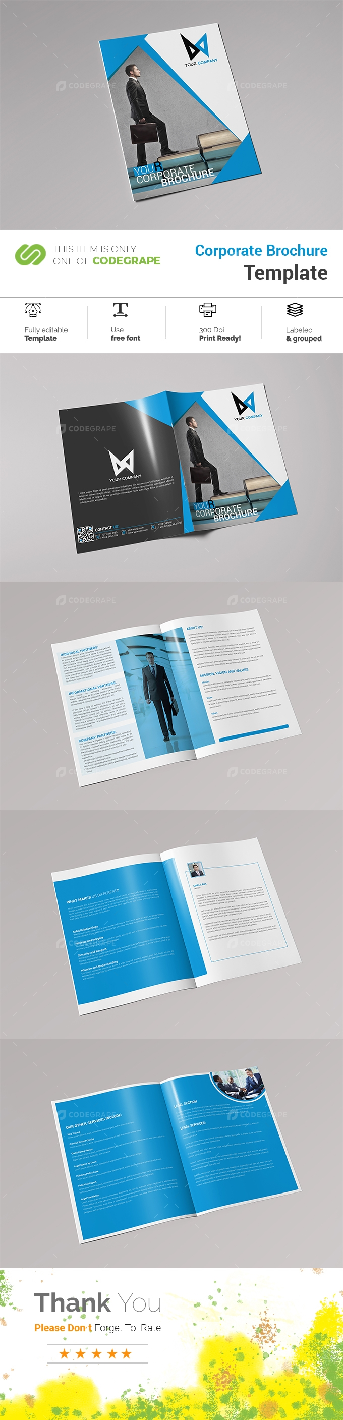 (8 Page) Corporate Brochure