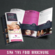 Beauty & Spa Trifold Brochure