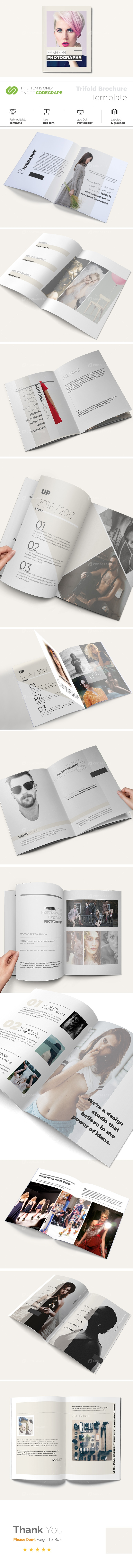 Fashion and Photography Brochure Template
