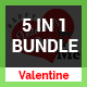 Valentine Bundle 5 in 1