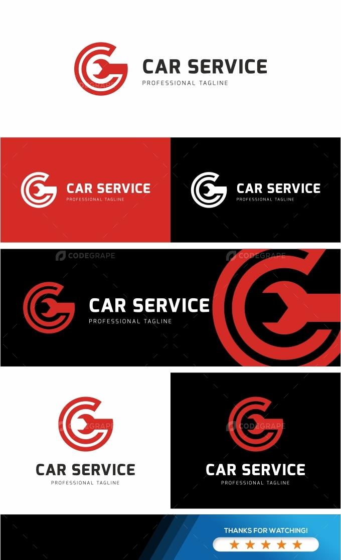 Car Service Logo Template