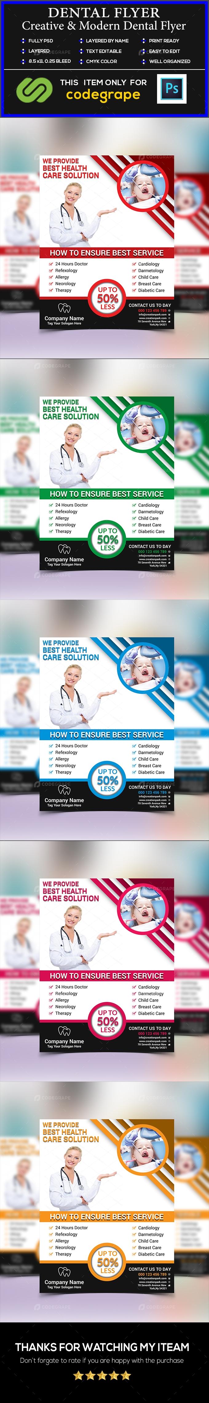 Corporate Dental Flyer