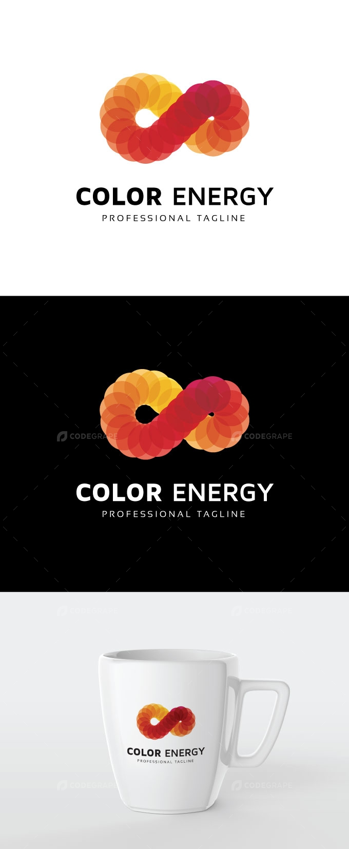 Color Infinity Energy Logo
