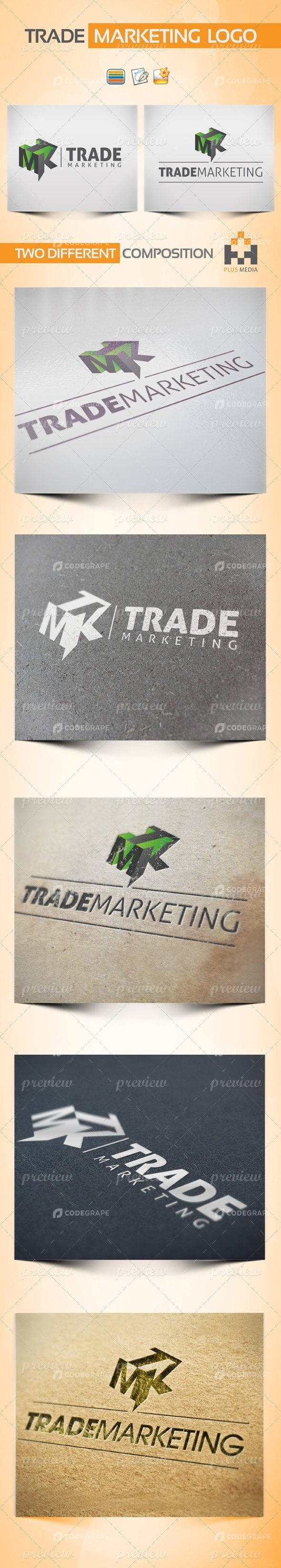 Trade Marketing Logotype