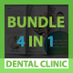 Dental Clinic Bundle 4 in 1