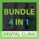 Dental Clinic Bundle 4 in 1