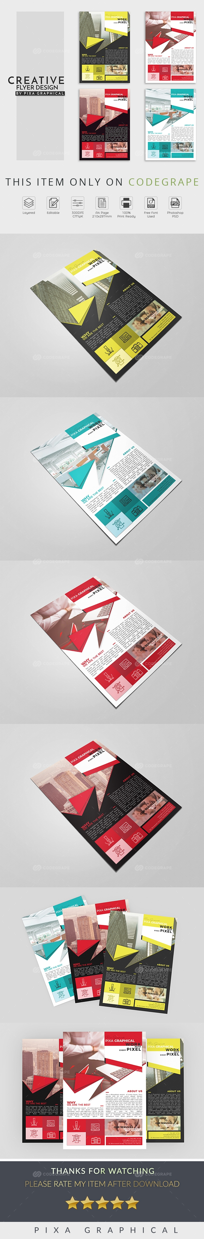 Creative Flyer Design Template