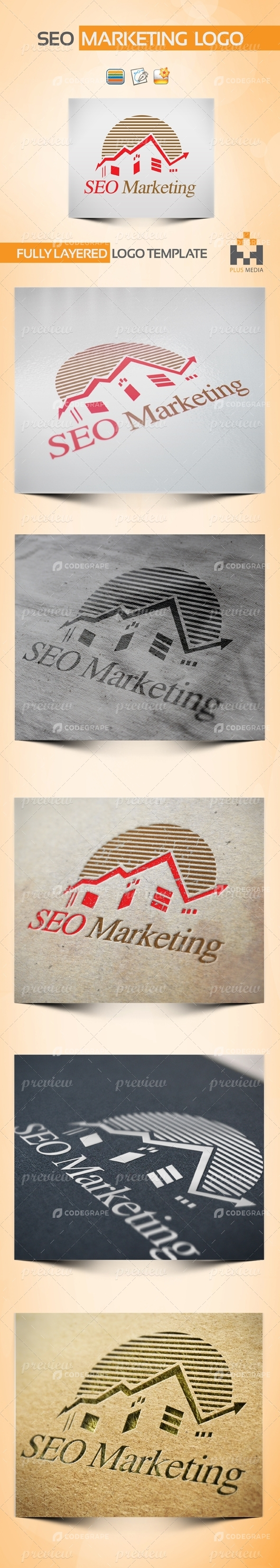 SEO Marketing Logotype