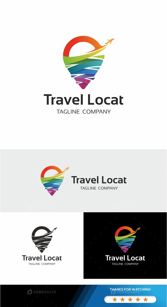 Travel Location Logo