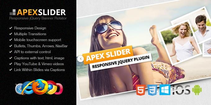 Apex Slider Responsive jQuery Plugin