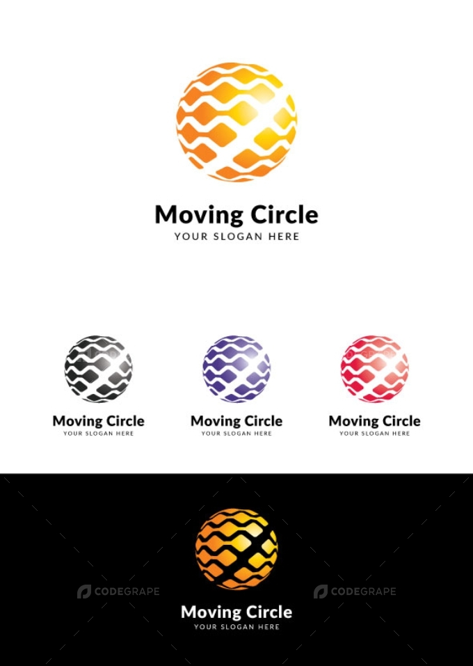 Moving Circle Logo