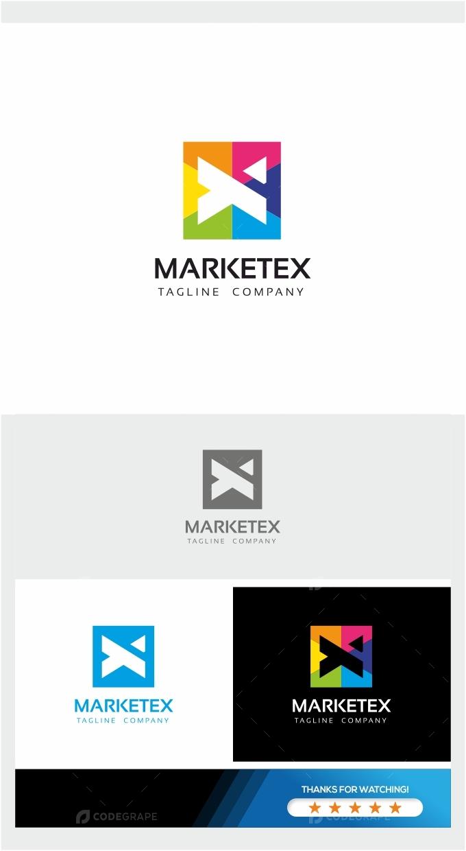 Marketex - Square Colorful Logo