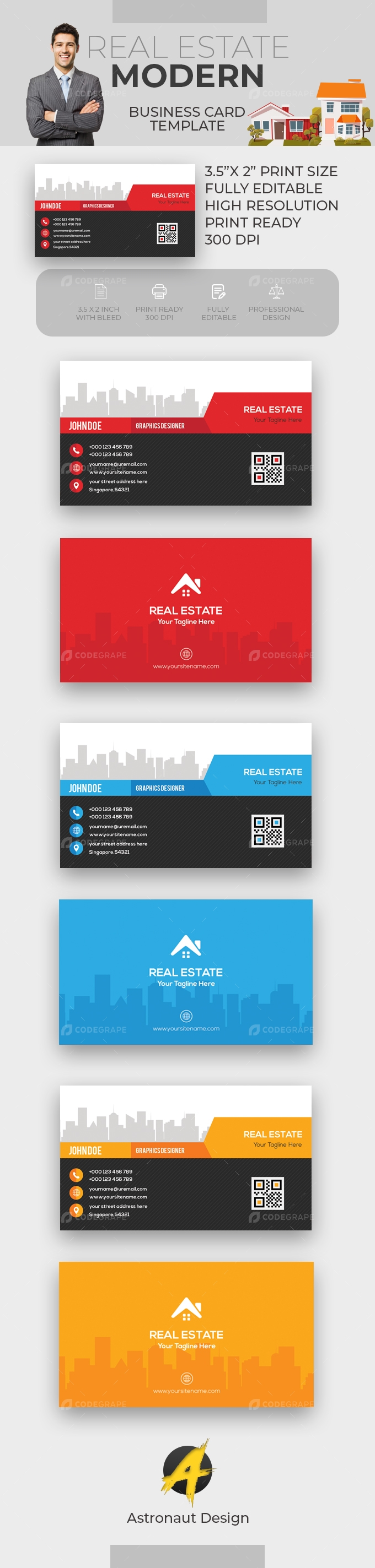 Real Estate Card [VOL-4]