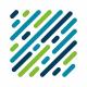 Square DNA Logo Template