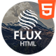 Flux Responsive Coming Soon Template