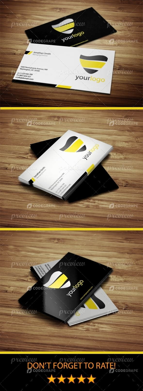 Cool and Simple Business Cards