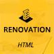 Renovation - Construction and Renovation HTML Template