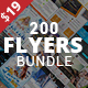 200 Corporate Flyers with Extended License - Only $19