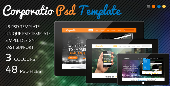 Corporatio Psd Template