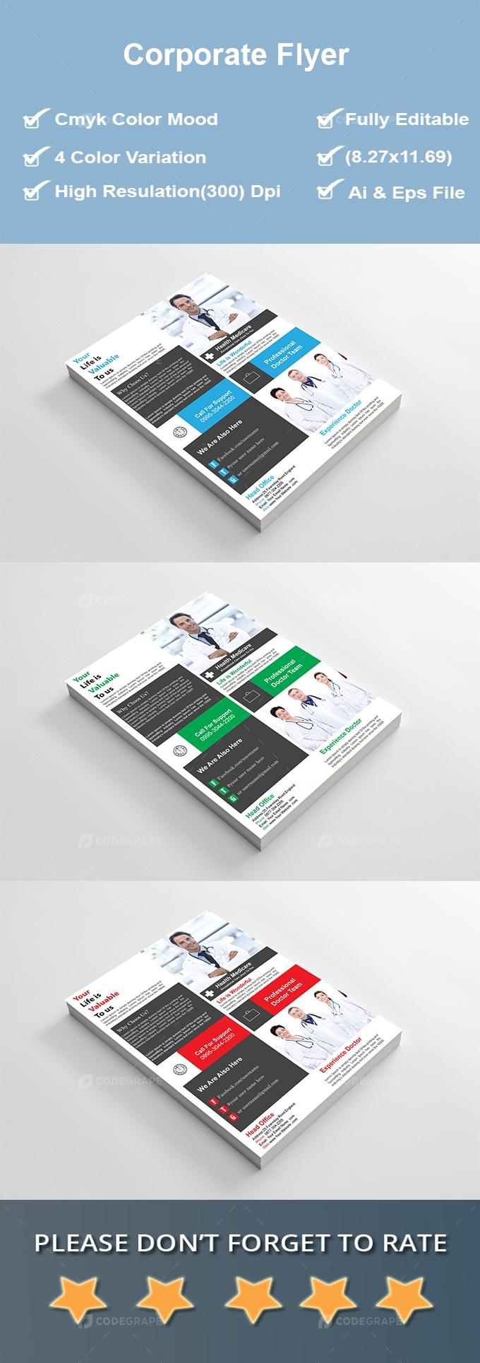 Doctor's Flyer Design