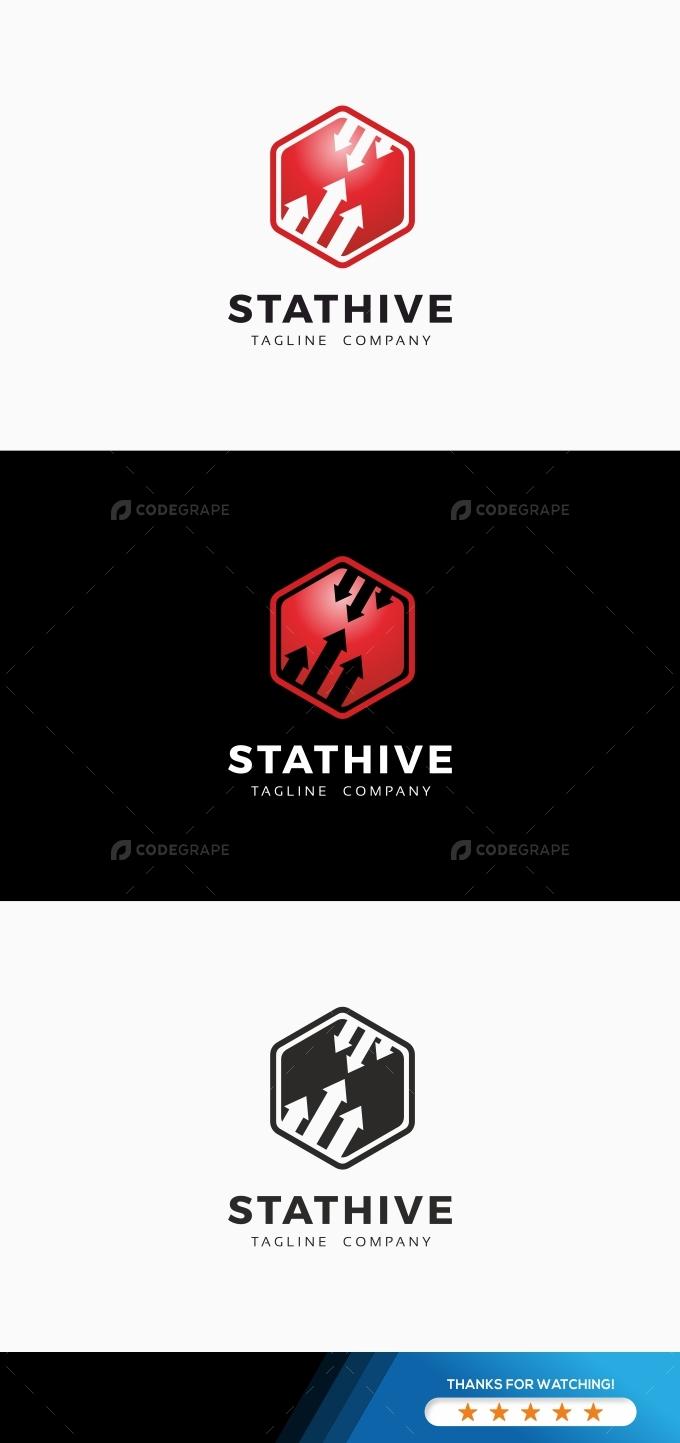 Stat Hive Data Logo