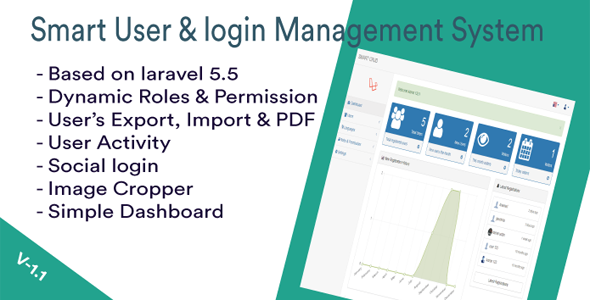 Smart CRUD - Login & User Management System
