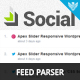 Social Feed Parser
