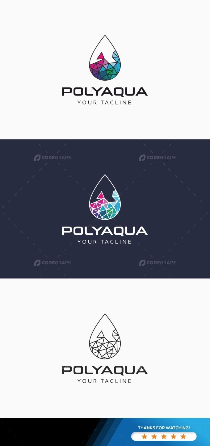 Polygon Aqua Logo
