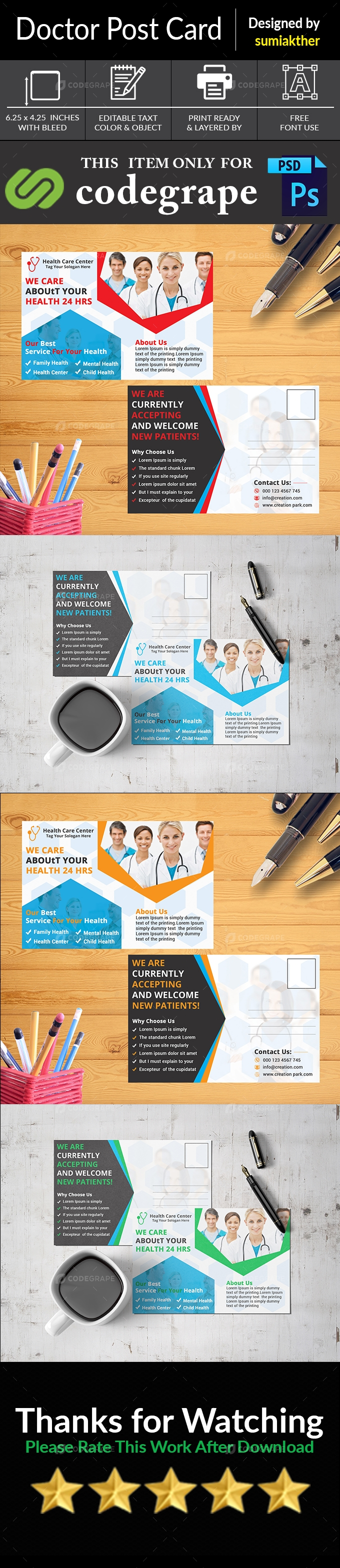 Corporate Doctor Post Card