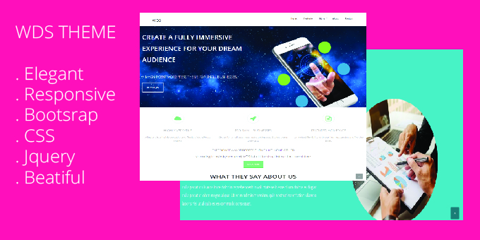 WDS - WordPress Theme